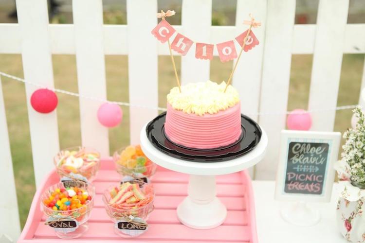 Homemade Parties DIY Party _Bear Party Chloe11