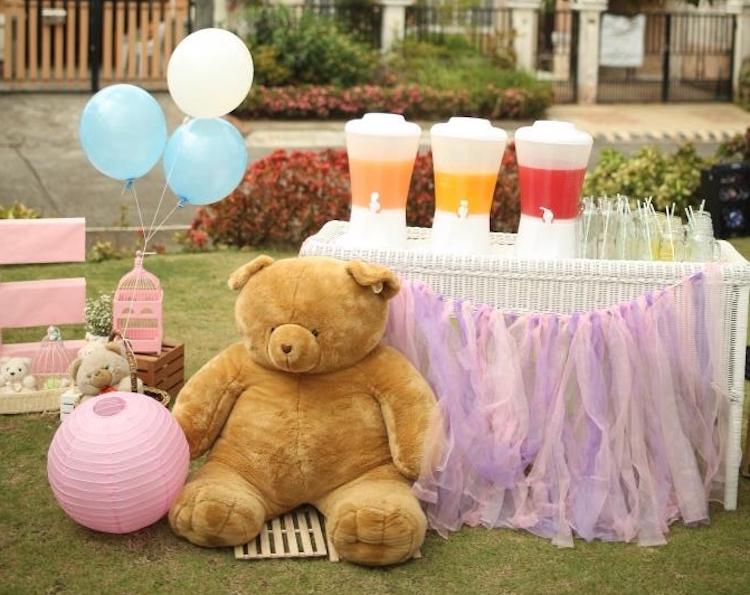Homemade Parties DIY Party _Bear Party Chloe13