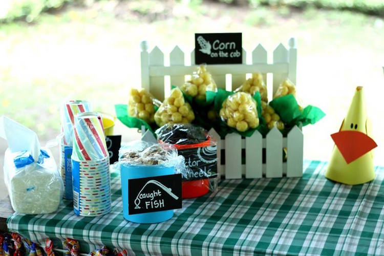Homemade Parties DIY Party _Farm Party Blue01