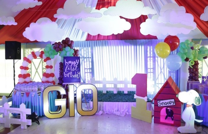 Gio's Snoopy Party