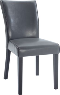 Chintaly Michelle Gray Parsons Chair Homemakers Furniture