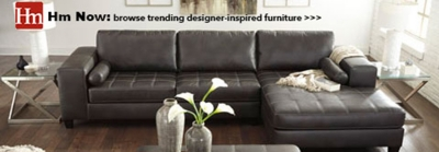 Grey Fabric Chaise Sofa Couches, Sectional Sofas & Sleeper Sofas | Homemakers