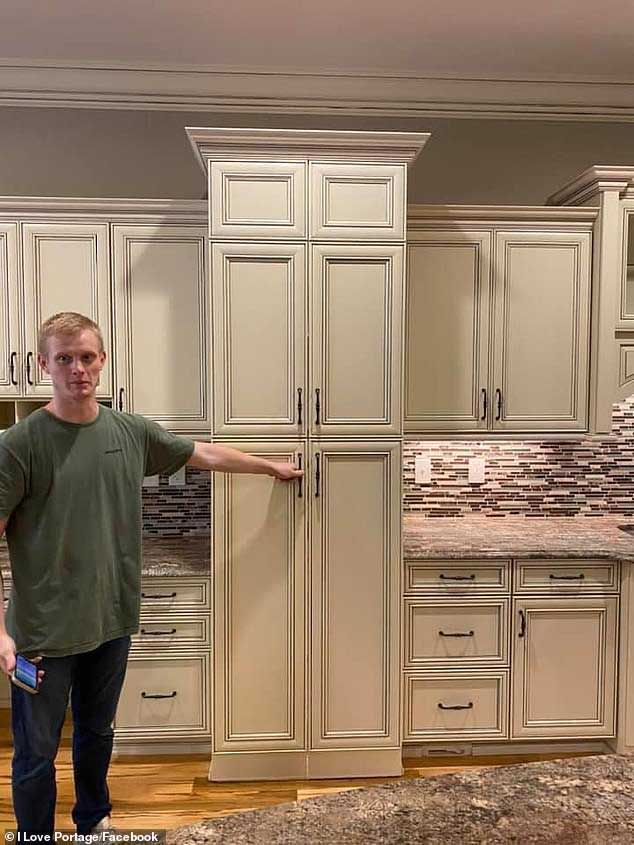 Family Designs Normal Looking Pantry With Hidden Room
