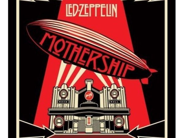 Led Zeppelin Mothership Vinyl Album Covers