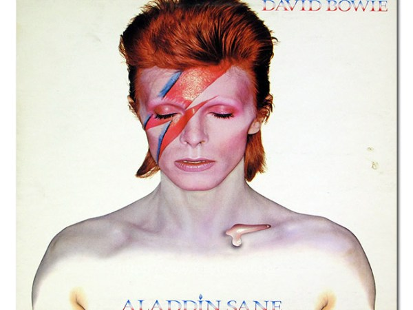 David Bowie Aladdin Sane Vinyl Album Cover