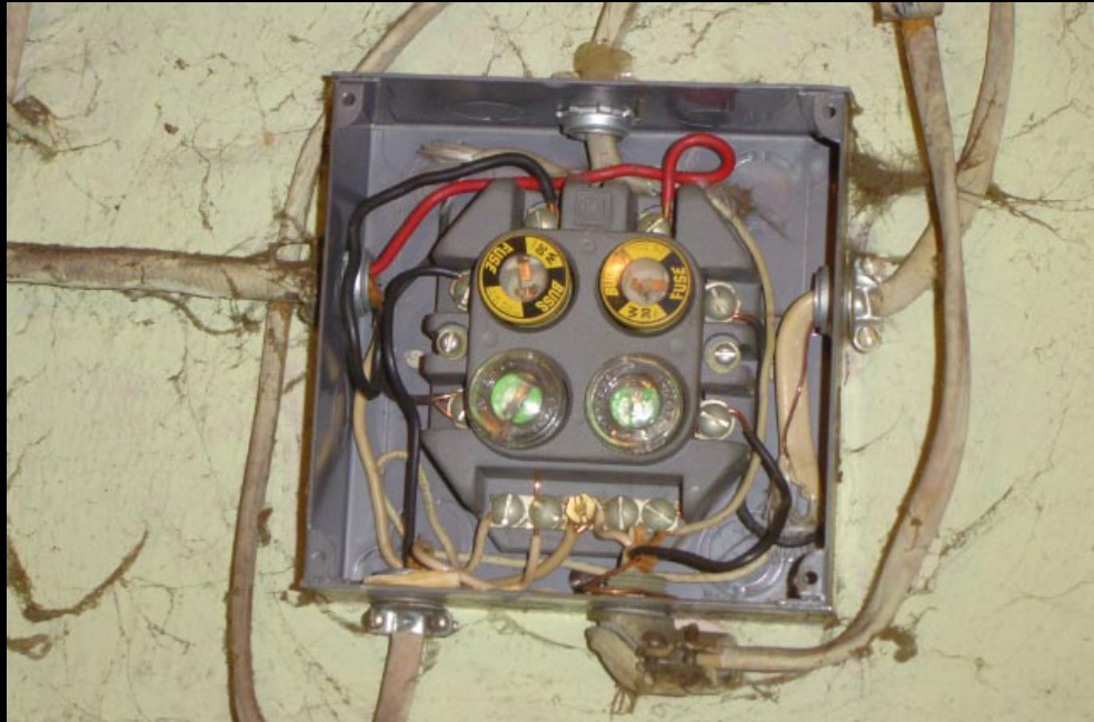 Old House 100 Amp Fuse Box Wiring Diagram