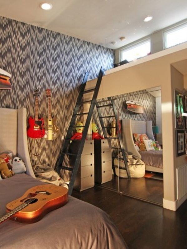 Kinderzimmer Gestallten Music-bedroom-interior-design-ideas