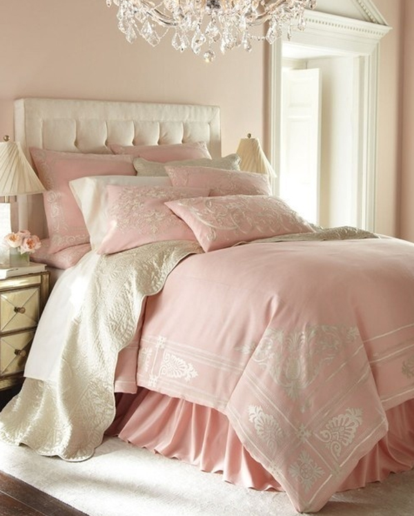 Kids Bedroom Ideas Chic-and-charming-pink-pastel-bedroom-design
