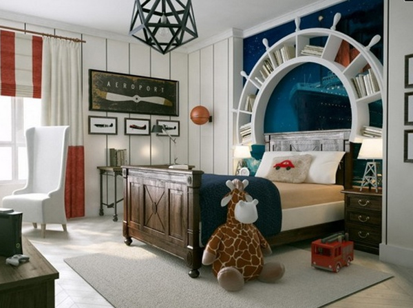 30 Cute and Cool Kids Bedroom Theme Ideas Home Design And Interior - bedroom theme ideas