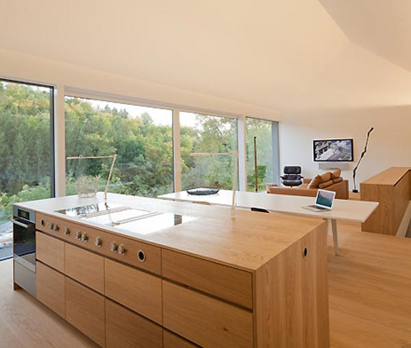 gallery small house design volumes fabi architekten cheap kitchen furniture small kitchen hd danutabois