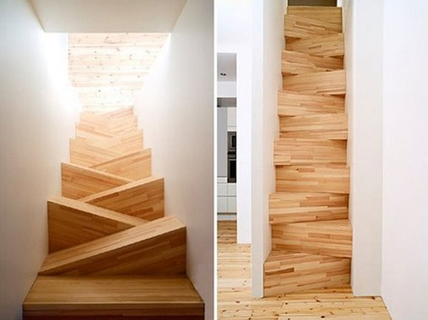 Home Chairs Wooden-staircase-design-ideas