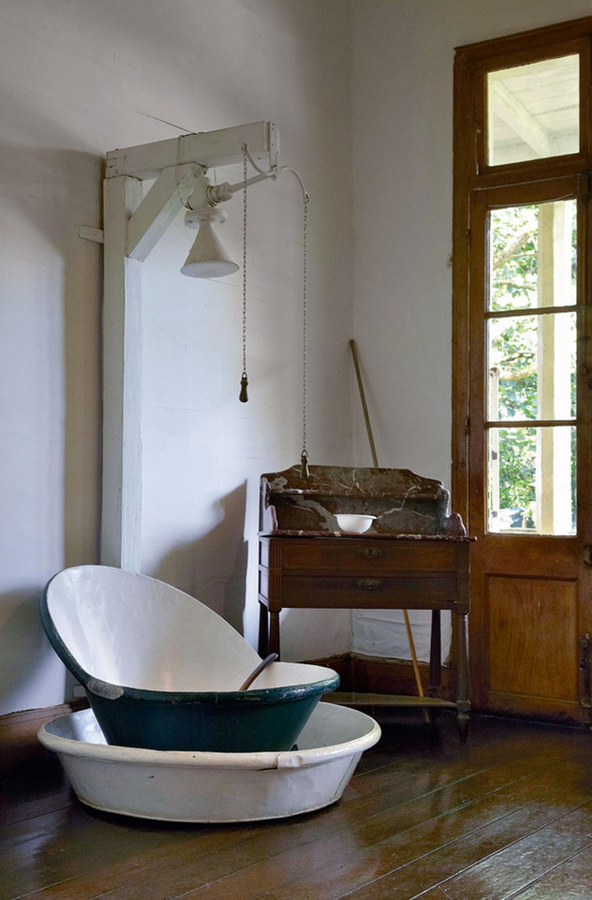Antike Badezimmer