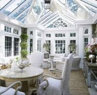 25 Stunning White Sunroom Ideas | Home Design And Interior