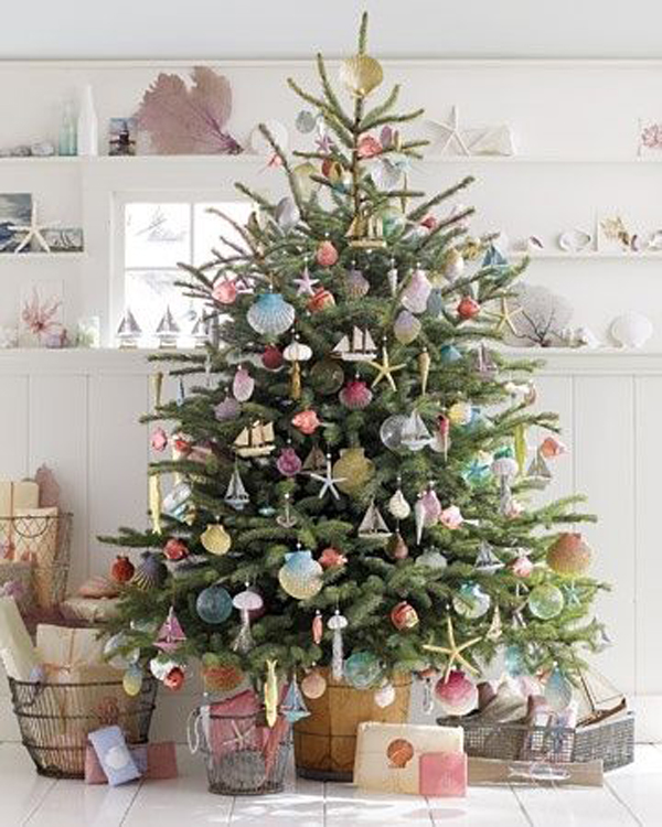 small christmas trees ideas - Rainforest Islands Ferry - small decorated christmas trees