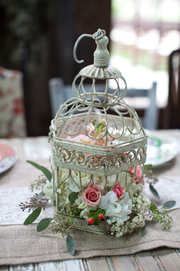 Cat Cage Decoration Ideas 20 Flower Birdcage Decorations Home Design And Interior