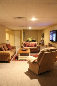 basement-family-room-with-tv-stand