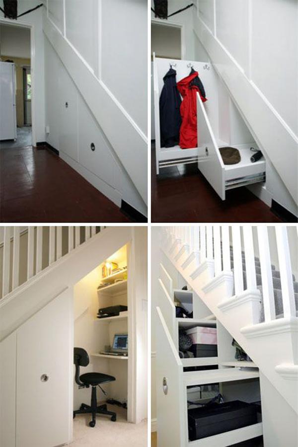 Under Stairs Closet Storage Solutions Home Decor