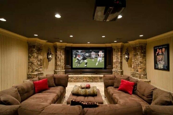 basement ideas entertainment area home design interior cool house designs ventilated fresh plans freshnist