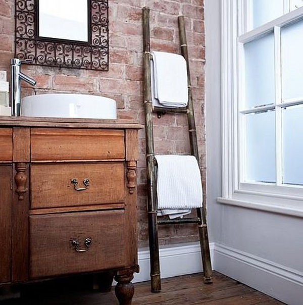 Gallery of 20 vintage ladder with practical ideas