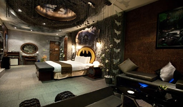 batman-bedroom-theme-ideas - batman bedroom ideas