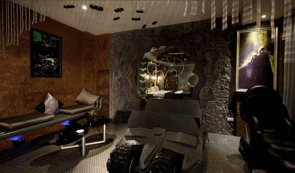 batman-bedroom-decor-ideas - batman bedroom ideas