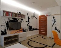 20 Sporty Bedroom Ideas With Basketball Theme | Home ...