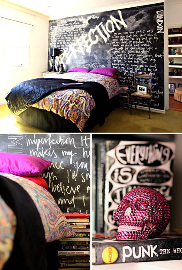 Kids Bedroom Furniture Punk-rock-bedroom-decorations