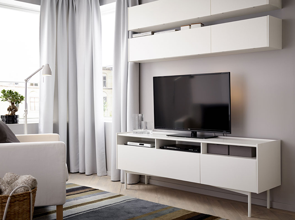 Mueble Tv Besta 25 Stylish Ikea Tv And Media Furniture | Home Design And