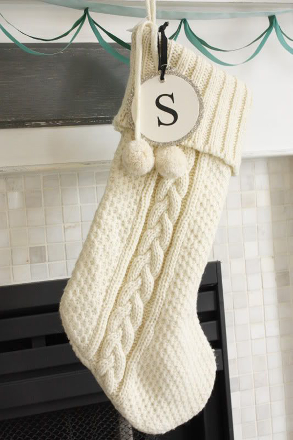 Sofa For A Bedroom White-christmas-knitted-stocking-ideas