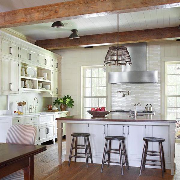 vintage farmhouse kitchen ideas home design interior stylish table eat small kitchen ideas decoholic