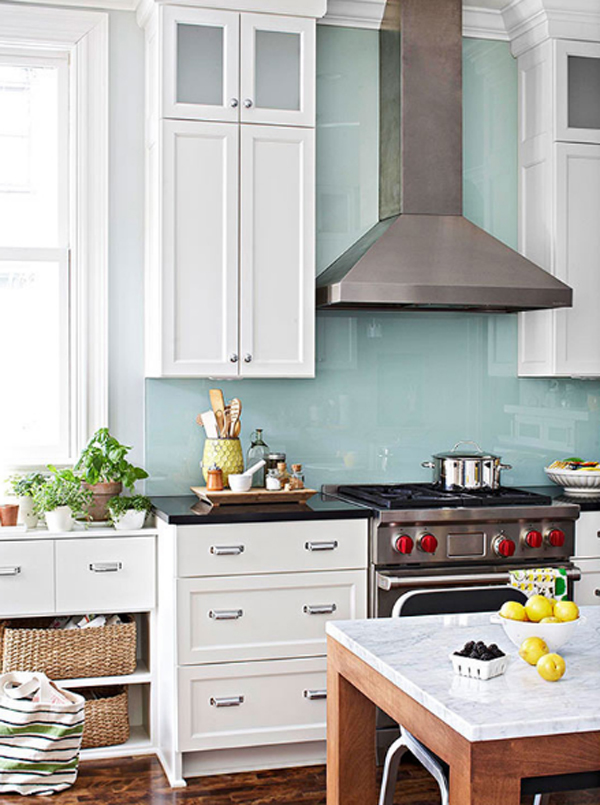 gallery modern simple kitchen backsplash kitchen rich brown cabinetry mosaic tile backsplash hgtv