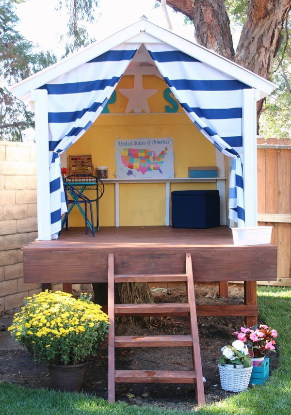 Garden Chairs Outdoor-playhouses-for-kids