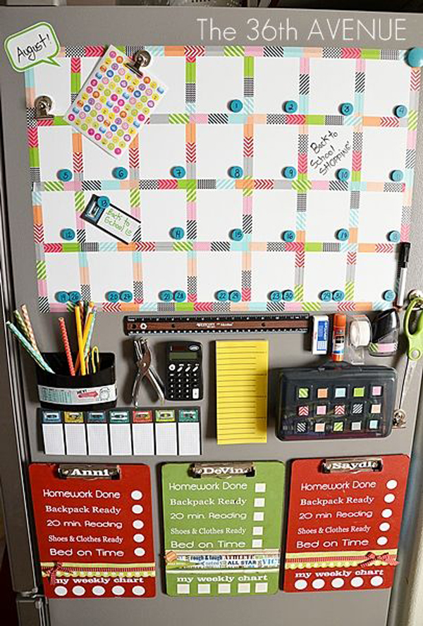 School Organization Tips 15 Back To School Organization For Kids | Home Design And