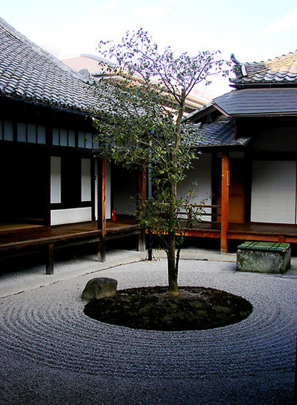 Kids Bedroom Ideas Minimalist-japanese-courtyard-garden