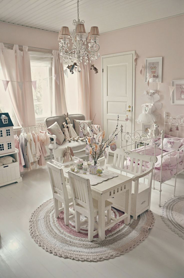 Shabby Chic Dekoration Shabby-chic-kids-bedroom-decoration