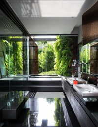25 Tropical Nature Bathrooms To Get Inspired | Home Design ...