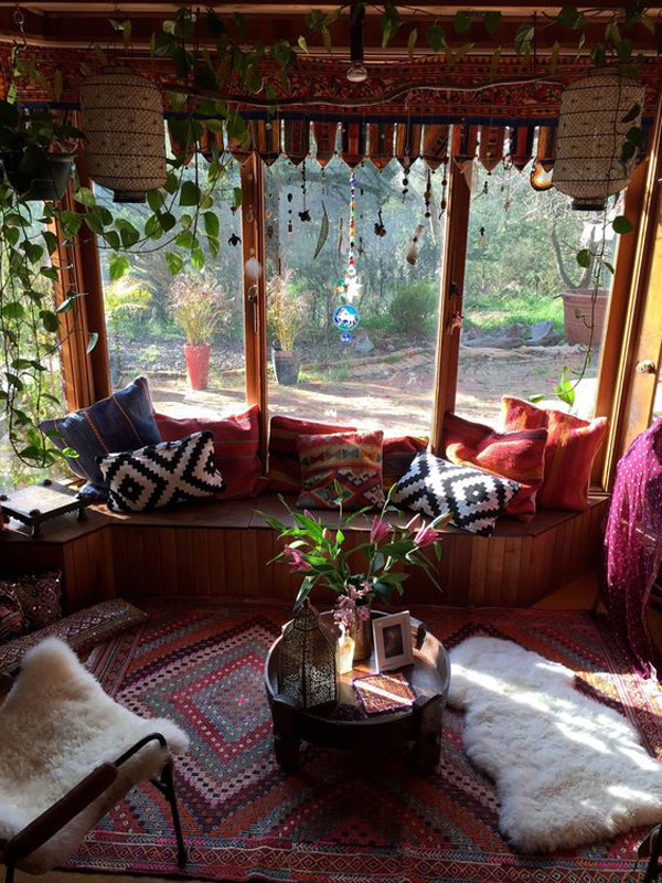 Inspirational Bathroom Accessories 15 Inspiring Bohemian Porch With Colored Textiles | Home