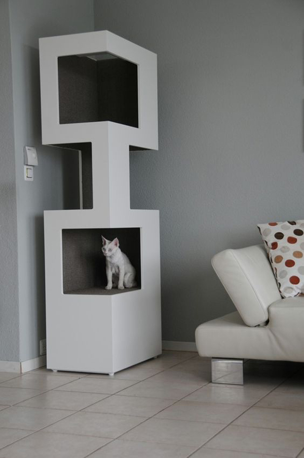 Katzen Baum 25 Indoor Cat Tree Ideas For Play And Relax | Home Design