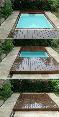 Unique And Functional Rolling Deck For Your Pools | Home ...