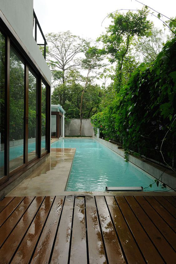 Best Backyard Pool Designs 25 Outdoor Narrow Pools For Limited Spaces | Home Design