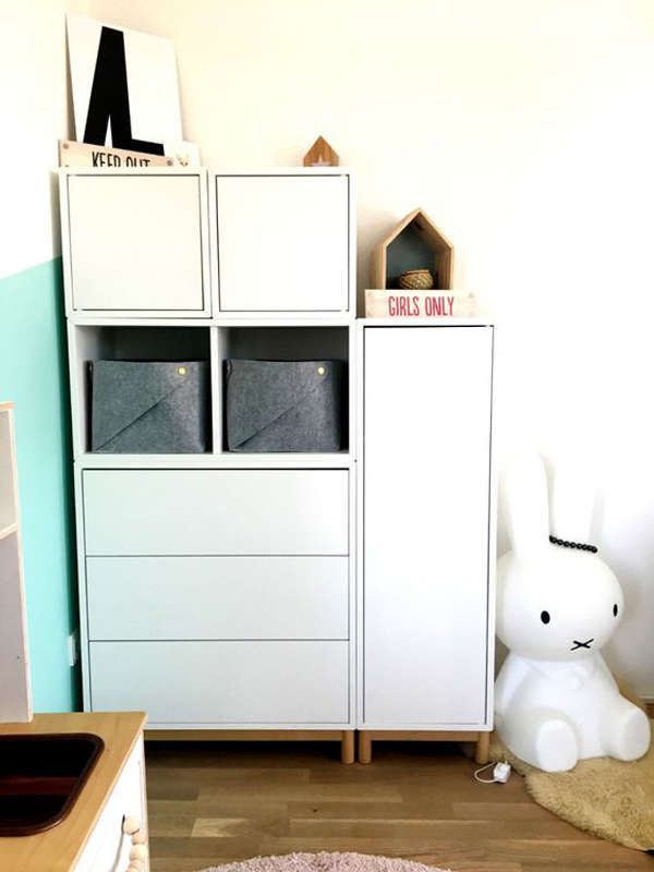 Corner Cabinet Ikea 20 Practical Wall Ideas With Ikea Eket Cabinet | Home