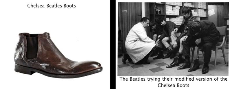 Resultado de imagem para beatles bota chelsea