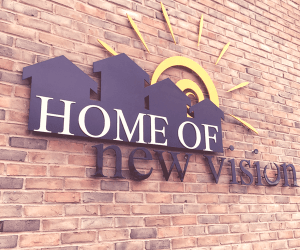 HNV logo on wall