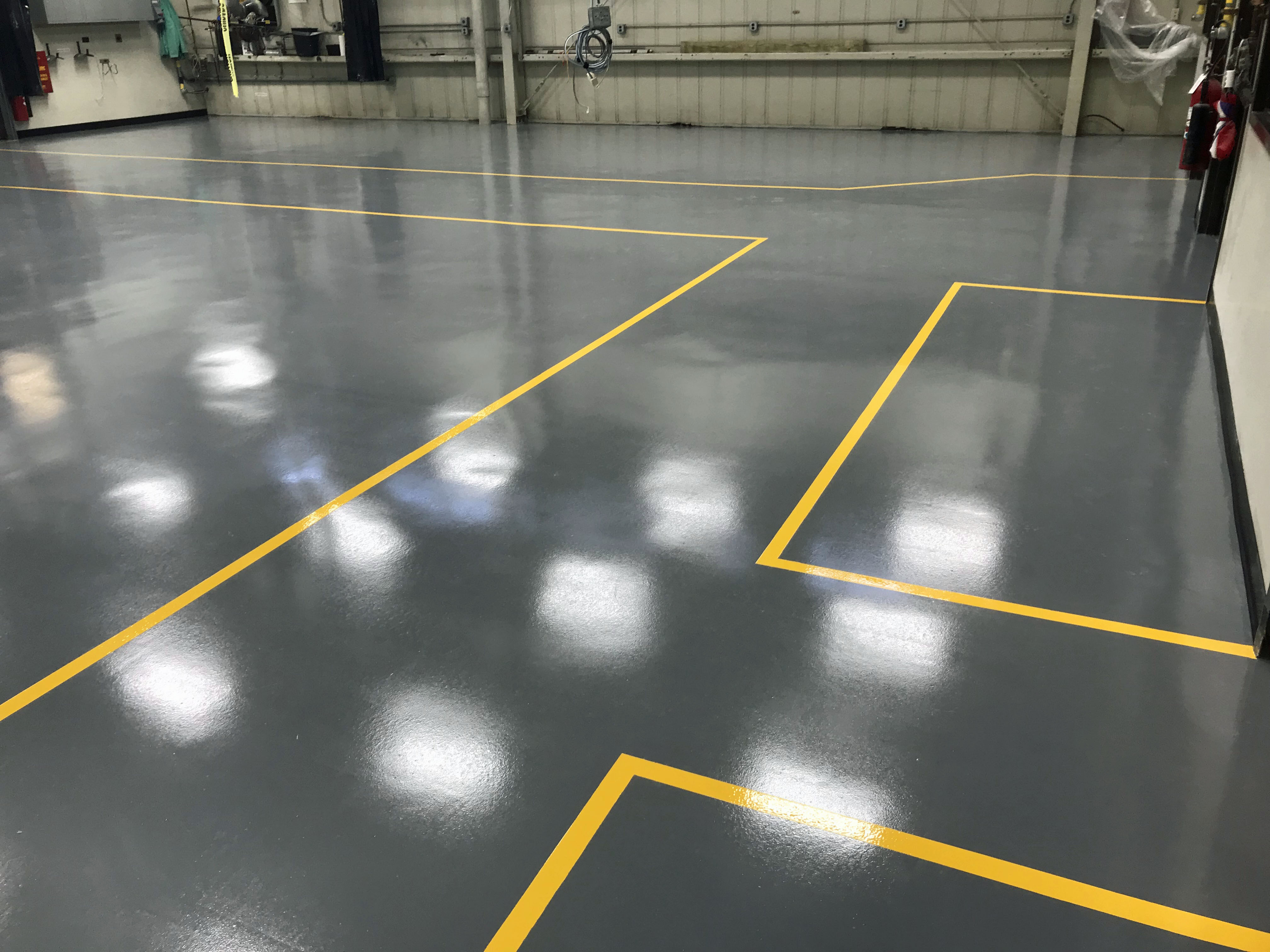 Garage Epoxy Cure Time Benefits Of Epoxy Floor Coatings In Basements Garages And Other