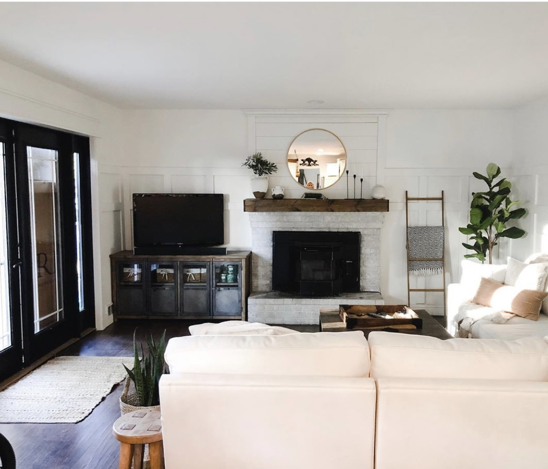 Minimalist Family Room Reveal With Macy S Radley Sectional Home On Mount Forest