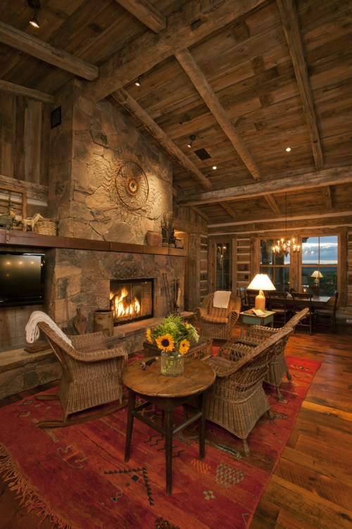 Neat Western Home Interior Western S Home Home On Range Designing