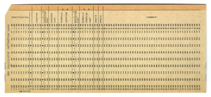 Douglas W Jones\u0027s collection of punched cards for computer programs - punch cards