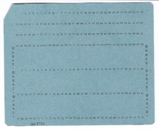 Douglas W Jones\u0027s punched card index - punch cards