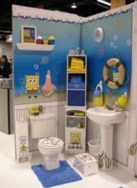 Yellow Color Theme on SpongeBob Bathroom Decor | Home ...