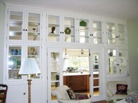 Living Room Cabinets with Glass Doors Design | Home Interiors